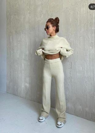 Костюм женский ангора свитер штаны ангорка