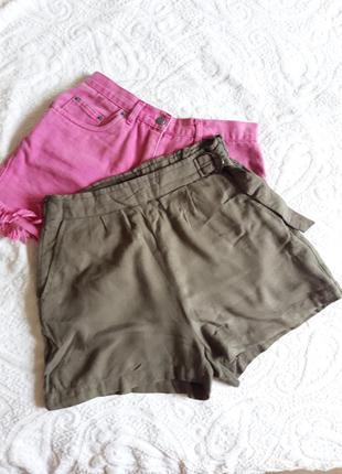 Тканевые шорты