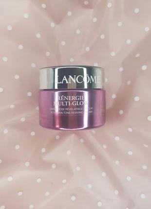 Антивозрастной крем для зрелой кожи с эффектом лифтинга, сияния и ровного тона  lancome renergie multi-glow 60+ - тестер