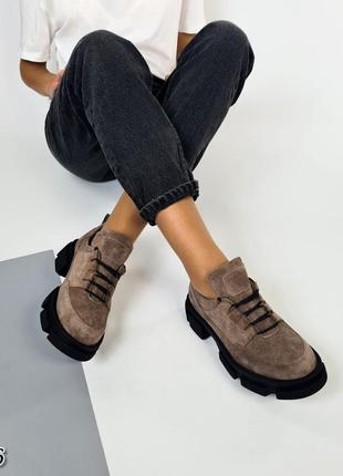 Туфли натуральный замш❤️❤️❤️