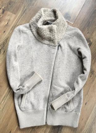 Брендовая теплая мягкая кофта шерсть gap оригинал