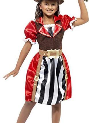 Пиратка 7-9 лет костюм карнавальный