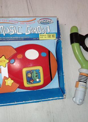 Музыкальная ракета, музыкальная рогатка в подарок