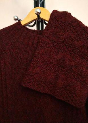 Вязаное платье ручной работы