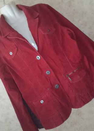 Пиджак куртка жакет вельветовый винтаж