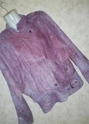 Куртка косуха варенка винтаж кожа