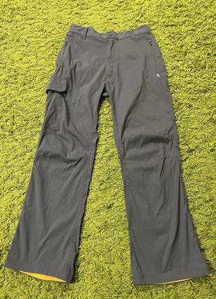 Треккинговые штаны craghoppers размерs