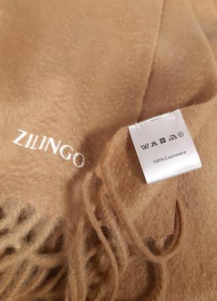 Zilingo шикарний шарф шаль кашемир оригинал из шотландии