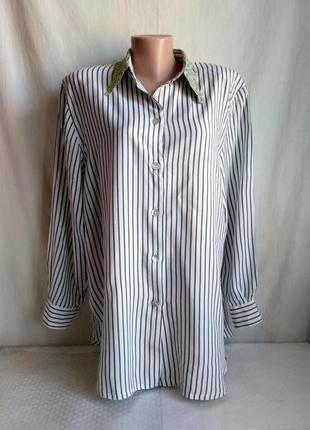 Рубашка блузка кофточка вискозная biba