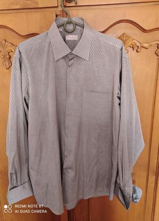 Рубашки  с длинным рукавом для высоких мужчин б/у  размер 48-50