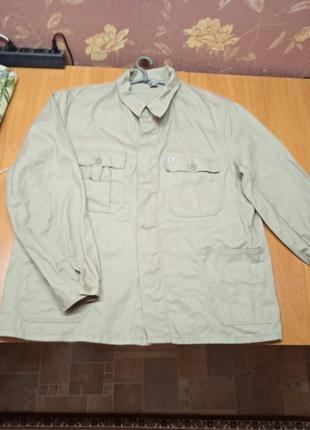 Бежевая мужская куртка спецовка 58 р
