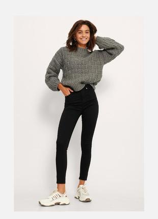 Фирменные джинсы джегинсы штаны скинни  внизу на замочках  cheap monday