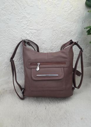 Сумка сумка-рюкзак средний размер