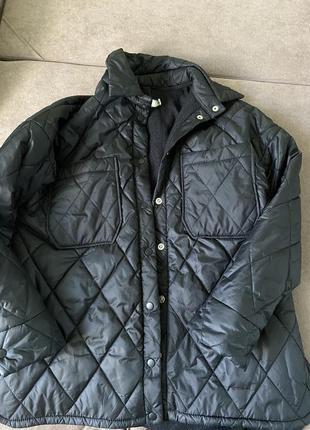 Стёганная куртка рубашка