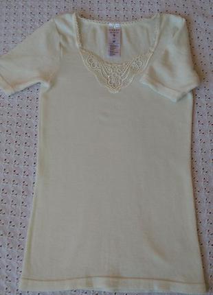 Термо футболка з мериносової шерсті термобілизна термобелье шерсть мериноса поддева шерстяная