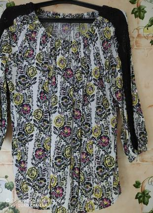 Блуза на межсезонье