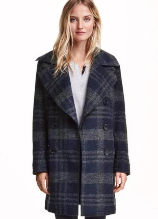 Пальто шерсть, h&m