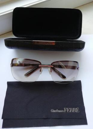 Роскошные солнцезащитные очки gianfranco ferre