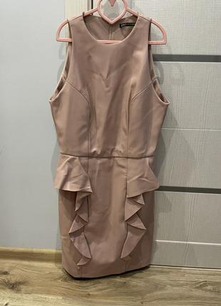 Нежно розовое кованное платье love republic