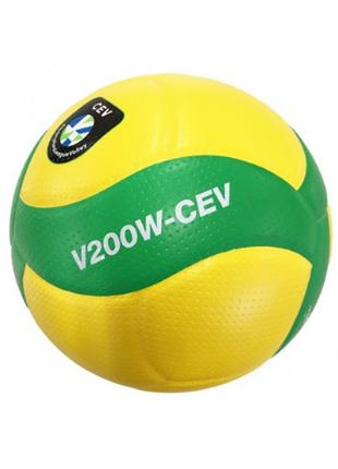 Мяч волейбольный mikasa v200w-cev