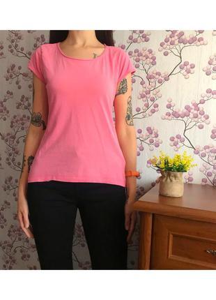 Розовая футболка fb sister р.m