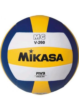 Мяч волейбольный mikasa mgv260