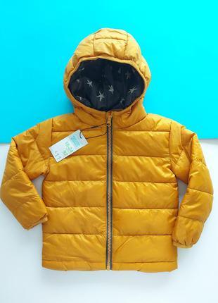 Куртка демисезонная горчичного цвета primark1 фото