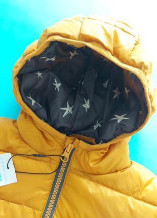 Куртка демисезонная горчичного цвета primark3 фото