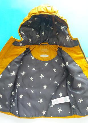 Куртка демисезонная горчичного цвета primark4 фото