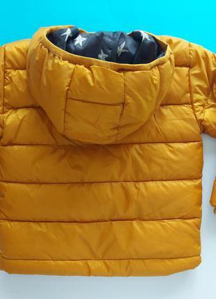 Куртка демисезонная горчичного цвета primark5 фото