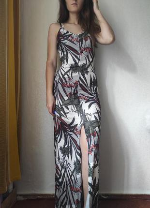 Платье в пол / длинное платье / довге плаття / сукня