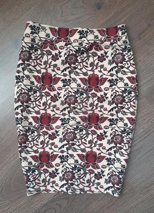 Шикарная юбка карандаш спідниця