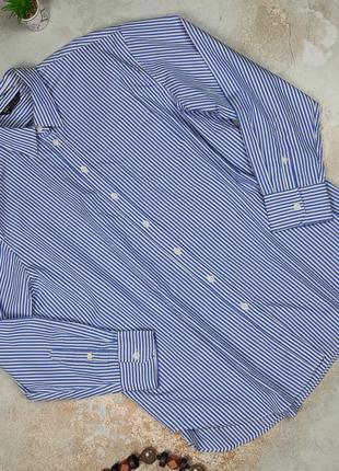 Блуза рубашка крутая в полоску новая marks&spencer uk 16/44/xl