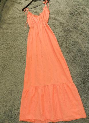 Платье сарафан кружево прошва