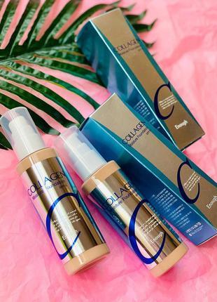Распродажа! увлажняющая база под макияж с коллагеном enough collagen moisture foundation spf 15