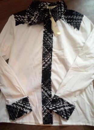 Оригинальная  рубашка luzabelle италия размер м/л