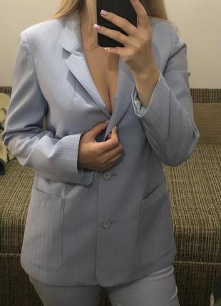 Костюм женский голубой