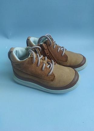 Шкіряні чобітки clarks