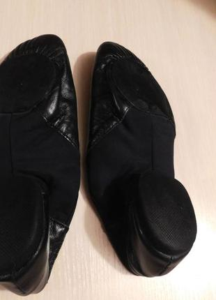 Танцевальная обувь, джазовки, чешки кожаные, с германии, р. есть 36, 38, 39