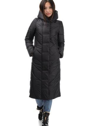 Женское зимнее пальто - одеяло «арт стайл»  размеры: 42 - 52