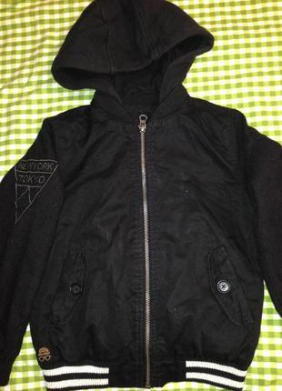Куртка бомбер демисезонная куртка мальчику 6 лет