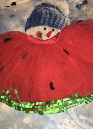 Фатиновая детская юбка