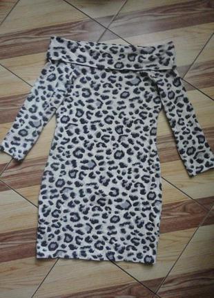 Приятное теплое платье коттон