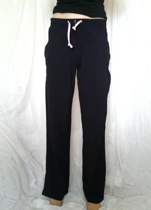 Стильные спортивные штаны р s, m 36-38 низкая посадка