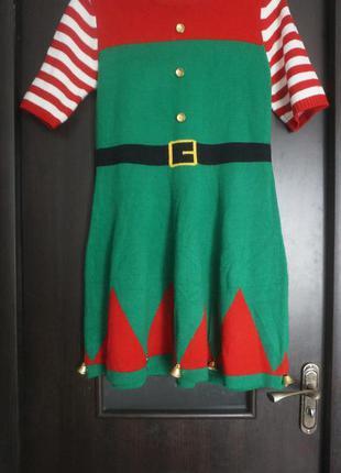Новогоднее платье эльф atmosphere uk10|12 eur38|40