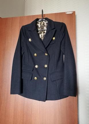 Теплый пиджак жакет