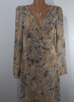 Гарна блуза туніка розмір м(к-72)блуза на завязках размер м