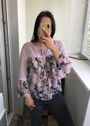 Шикарная легкая блузка блуза
