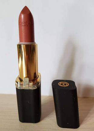 Помада для губ loreal collection exclusive color riche, нюдовая eva's nude