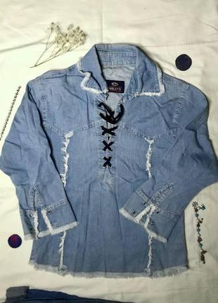 Винтажная джинсовая кофта wally`s